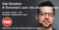 "Join IRCP (UGENT) for a Panel Discussion with Zak Ebrahim, Author Of ""Son of a Terrorist""."