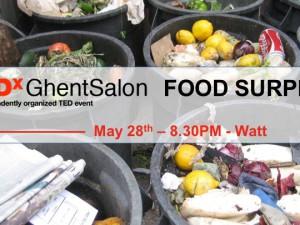 28/5 TEDxGhent Salon: Food Surplus