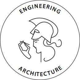 Logo faculty of architecture and engineering UGent