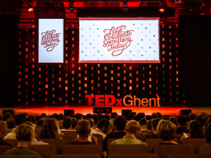 Celebration of inspiration at TEDxGhent #5