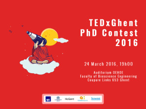 24 March – TEDxGhent PhD Contest